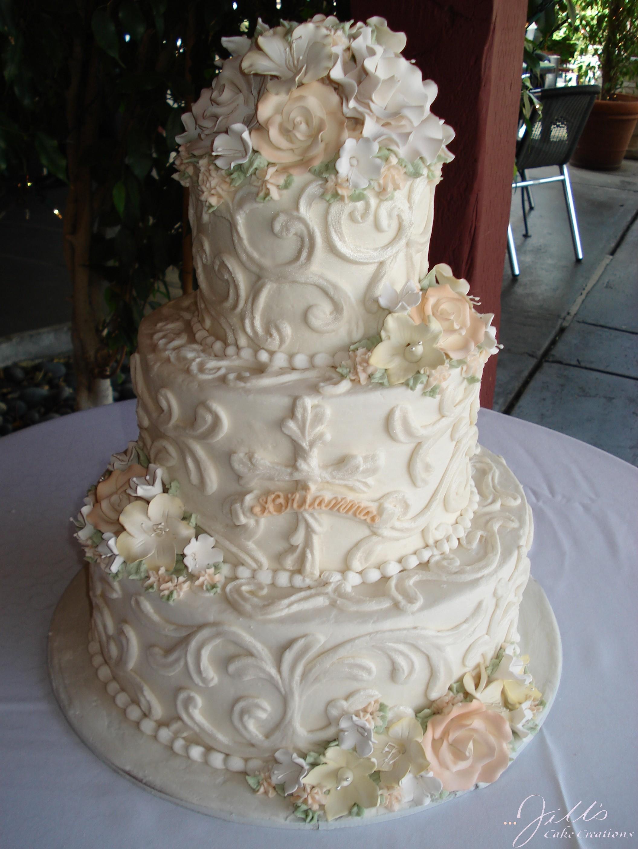 Peachy Religious Celebration Jills Cake Creationsjills Cake Creations Funny Birthday Cards Online Overcheapnameinfo